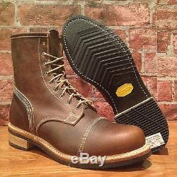 $495 Timberland Boot Company Smuggler's Notch 8-inch Cap Toe Boots. Size8