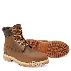 9664B Mens Timberland Heritage 6-Inch Shearling Lined NEW