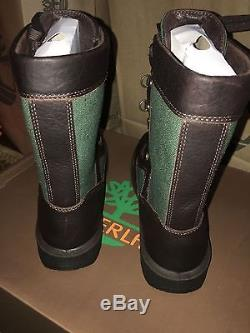 A18BS DS Timberland TALL FIELD BOOT GTX Sz 8-11.5 Brown Green 100/% Authentic