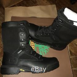 A18K8 DS LIMITED Timberland TALL FIELD BOOT GTX Sz 8.5-13 Black 100% Authentic