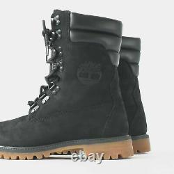 A1ucy Timberland Men's Limited Release Superboot Blk With Fur All Sizes