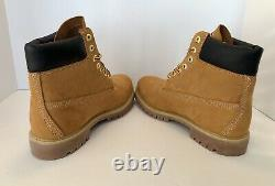 BAPE x TIMBERLAND x UNDEFEATED Premium Wheat 6 Inch Boots Men's Size 9.5