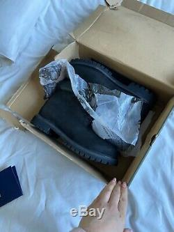Black mens timberland boots size 11