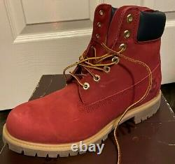 Brand NEW Mens Timberland Preminum Red Gum Limited Release 6 Inch