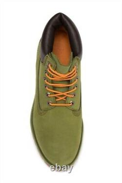Brand New Men's Pesto (Green) Timberland 6inch Boots Size 9.5 Very Nice