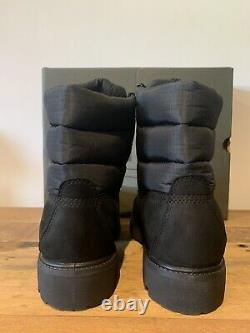 Brand New Timberland Mens Premium 6 Inch Puffer Boots Size 7 Black