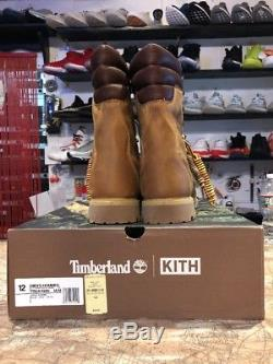 Kith X Timberland Chapter 3 Collection Shearling 40 Below Sz 12 Rust Super Ds