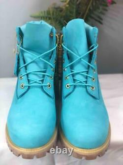 Liked NewTIMBERLAND 6 Villa x Wale The Gift Box Boots in Turquoise US 10.5M