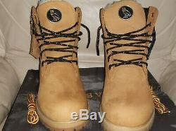 Limited release Timberland x OVO 6 Men's Premium Wheat Boots Size 8.5 US