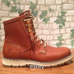 Men's Timberland Britton Hill Plain-toe Waterproof Boots Style A197N Size 10M