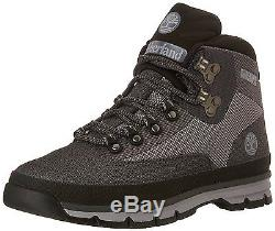 Men's Timberland Jacquard Euro Hiker Boots Grey / Black A135T