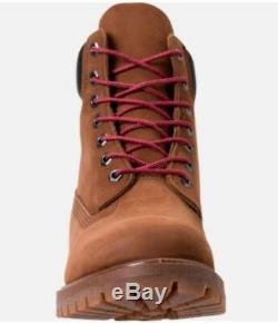 Men's Timberland Premium 6 Inch Classic Boots Tundra Brown Size 10.5 Leather