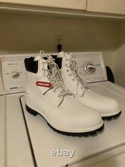 Men's White Timberland Helcor Boots 12M Size 12 White Limited Edition Release