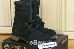 Mens Premium TIMBERLAND Super Boot 40 Below Shearling Lined Black 10 Limited 8