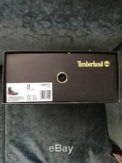 Mens Size 11 Spongebob Timberland Boots- New In Box
