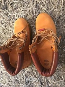 Mens Tan Timberland Boots Special Edition Size 9