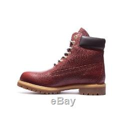 Mens Timberland 6 American Football Leather Brown Boots RRP £209.99 (. PF18)