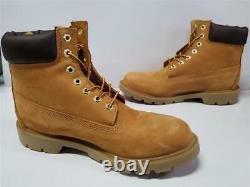 Mens Timberland 6 Inch Classic Basic Waterproof Insulated Boots 18094 231 Wheat
