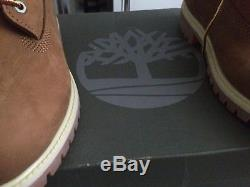 Mens timberland boots Uk Sise 8 /brown