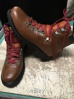 NEW MEN'S LEATHER Timberland 1978 HIKER LIMITED RELEASE TB0A1HDT SZ 8.5 NOBOXLID
