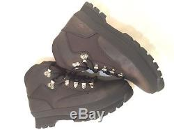 NEW Timberland MEN'S CLASSIC LEATHER EURO HIKER BLACK Ankle Shoes BOOTS 6529A US