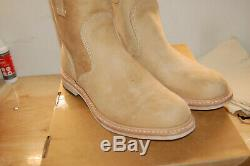 NIB Timberland Boot Company Coulter Men Made In USA 9 M $600 Wheat brown box