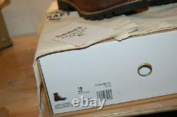 NIB Timberland Boots 8 American Craft Made In the USA 10 M $500 Dark Brown