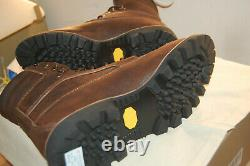 NIB Timberland Boots 8 American Craft Made In the USA 11.5 M $500 Dark Brown
