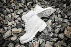Nib Timberland Ghost White Limited A1m6q 6 Inch Waterproof Boots Sold Out 9.5