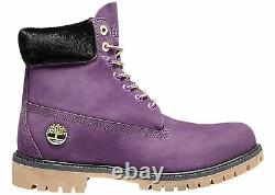 Nib Timberland X Lakers Purple Nba Limited 6 Inch Boots Sold Out 8.5