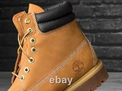 RRP £180 GENUINE Timberland PREMIUM 6 Inch Waterproof Leather Classic Mens Boots