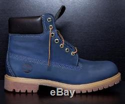 SYCAMORE STYLE Custom Dyed Blue Ivy Timberland Boots