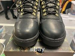 Supreme Timberland Field Boot Black Ds Size 9.5 Vintage Vtg Authentic Rare