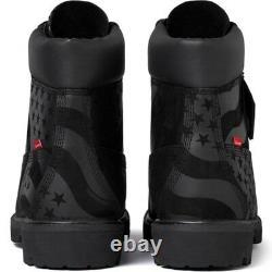 Supreme Timberland Stars and Stripes Field 6 Inch Premium Waterproof Boot QS 8