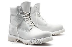 Sz 11 Men's Timberland Ghost White A1m6q Limited Release 6 Inch Boots Ds In Box
