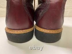 TIMBERLAND American Craft HORWEEN Leather 8 Boots Oxblood Red UK 12.5 US 13