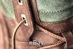 TIMBERLAND FlyRoam Men's Limited Chocolate Brown Leather Boots A1LPY201 SALE