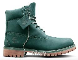 TIMBERLAND Limited Release GREEN JADE 6 Premium Waterproof Boots A1P5 NEW