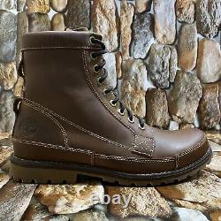 TIMBERLAND MEN EARTHKEEPERS ORIGINAL LEATHER 6-INCH MD BROWN STYLE 15551 Sz10M