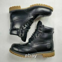 TIMBERLAND MEN'S 6 6 INCH PREMIUM BROUGE BOOTS BLACK TB0A16XJ size BOOT