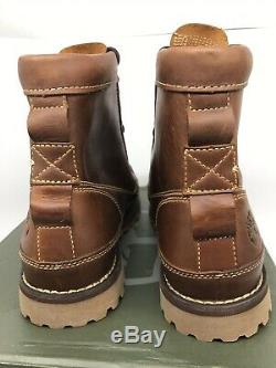 TIMBERLAND Mens EARTHKEEPERS BOOTS 6 Waterproof Leather Size 10 WIDE