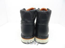 TIMBERLAND PRO Men's GRIDWORKS 6 ALLOY TOE WORK BOOTS A1B4K Black Size 10.5W