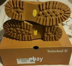TIMBERLAND SUPER BOOT 40 BELOW IN CLASSIC WHEAT Tupac Das Yellow EFX TB06842A