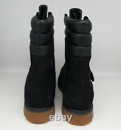 TIMBERLAND SUPER BOOT WithFUR BLACK A1UCY