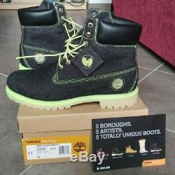 TIMBERLAND X RZA 5 Boroughs Project 6 Inch Glow New in box wu tang sz 11US 45FR