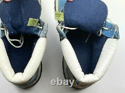 TIMBERLAND boots, vintage hip-hop shoes 90s hip hop clothing, 1990s mens size 12