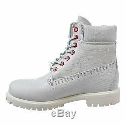 Timberland 6 Boots White Serpent 6-Inch Premium Waterproof Boots Mens Size 14