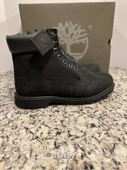 Timberland 6 Inch Classic Basic Waterproof Boots Mens Size 12 Black 019039 001