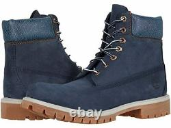 Timberland 6 Inch Premium Limited Navy Boots A1UKS Men's 10.5