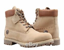 Timberland 6-Inch Premium Waterproof Iced Coffee Limited Men's Boots A1RAU